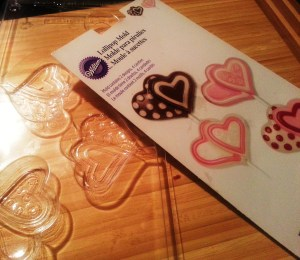 Heart Shape Lollipop Mold